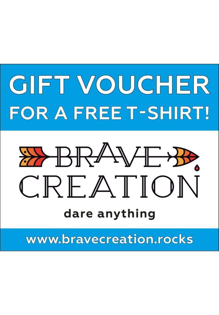 gift card voucher free t-shirt