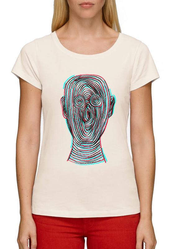Fingerprint man тениска човек лице глава