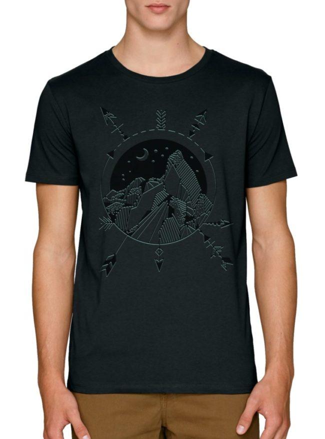 мъжки тениски с щампи планински