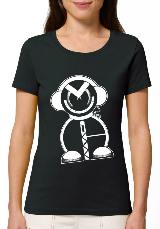 тениска с робот