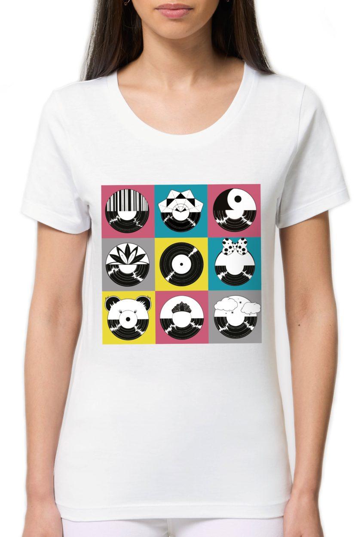 тениска с плочи